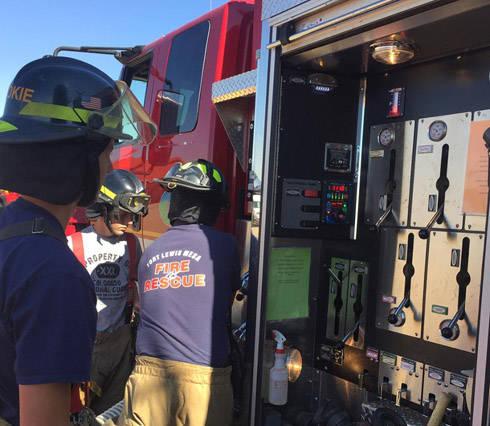 Firetruck controls